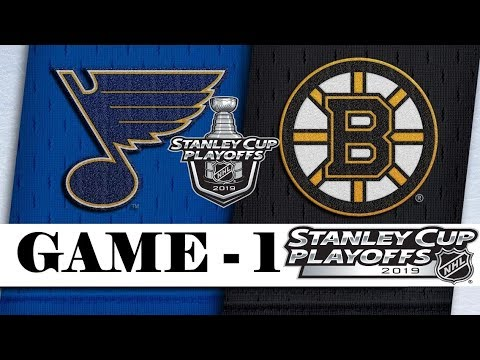St. Louis Blues vs Boston Bruins | Final | Game 1 | May.27, 2019 | Stanley Cup 2019 | Обзор матча