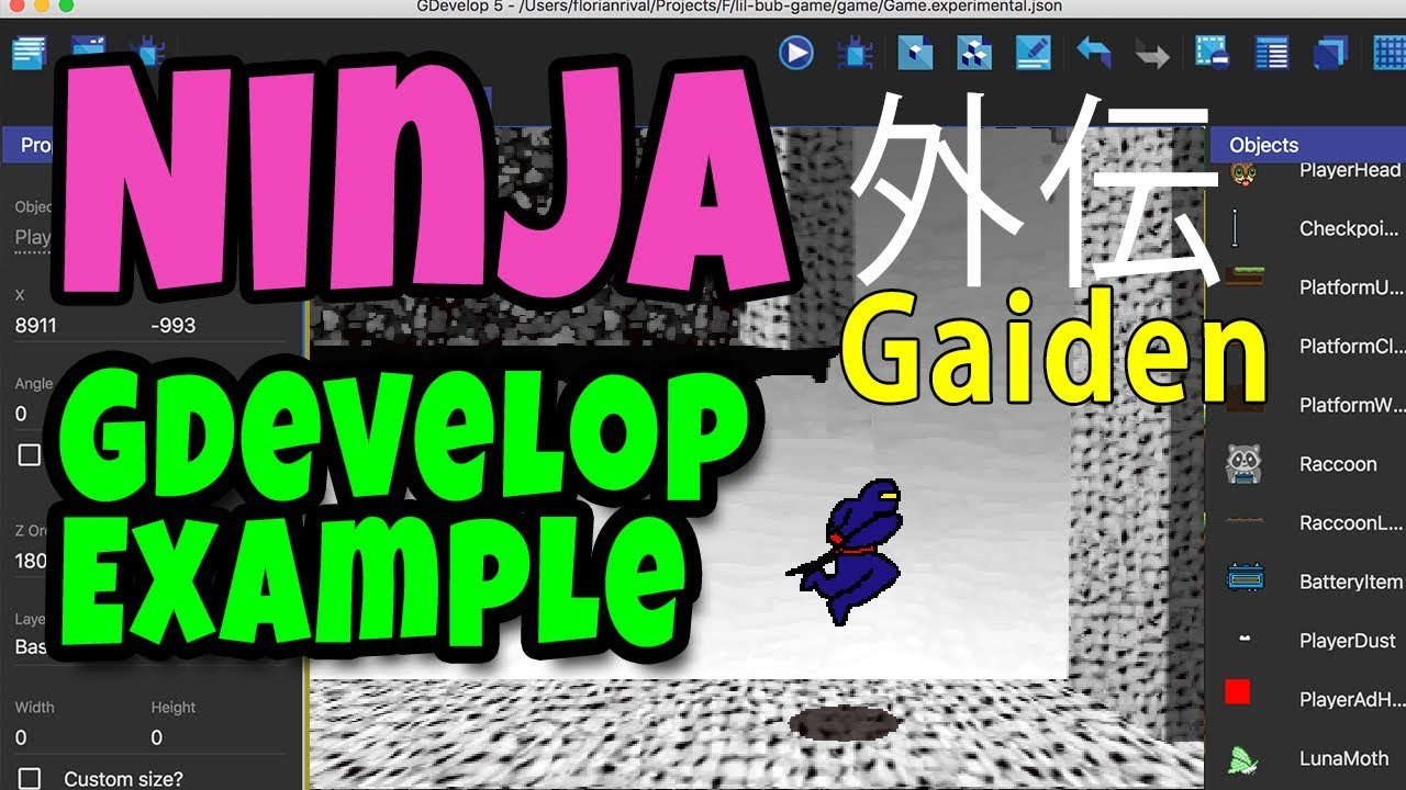 Gdevelop Examples