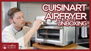 Cuisinart Air Fryer Unboxing & Testing French Fries - TOA-60 Air Fryer Toaster Oven