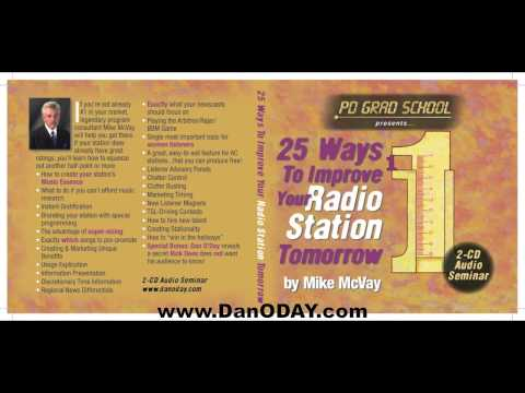 The 4 Keys to Successful Radio Programming