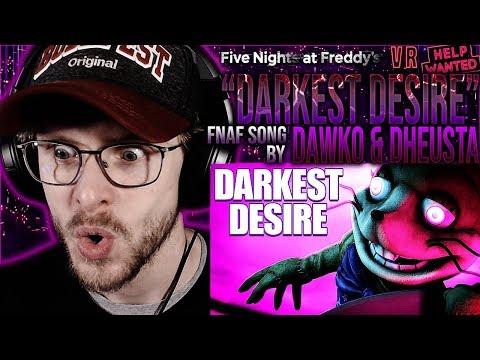 "Vapor Reacts #1089 | [SFM] NEW FNAF GLITCHTRAP SONG ""Darkest Desire"" By Dawko & DHeusta REACTION!!"