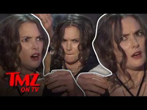 Winona Ryder's Crazy Face Mystery Solved!  TMZ TV