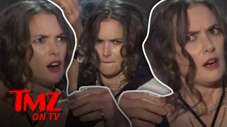 Winona Ryder's Crazy Face Mystery Solved! | TMZ TV