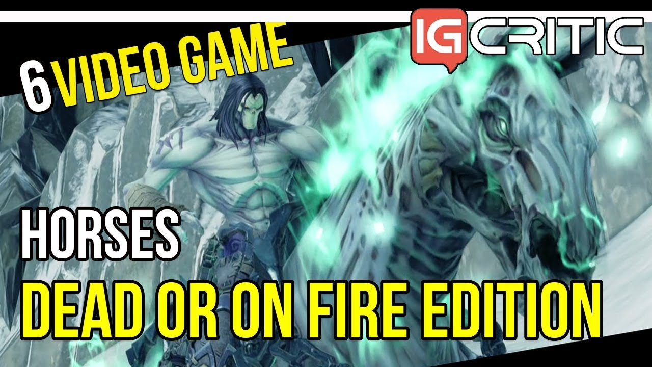 6 Fantastic Fantasy Horses in Video Games: Dead or on Fire!