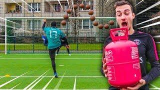 DIESER 120 JAHRE ALTE HELIUM BALL IST KRANK! FUßBALL CHALLENGE