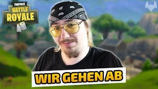 Wir gehen ab - Fortnite Battle Royale - Deutsch German - Dhalucard