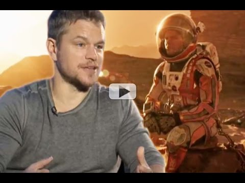 Matt Damon – Making 'The Martian' Was Amazing | Exclusive Interview