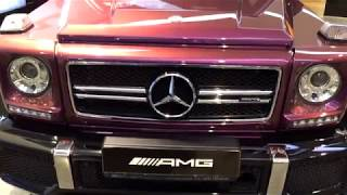 "Mercedes BENZ G63 ///AMG Розовый перламутр Автомобиль Мечты ""Гелик"""