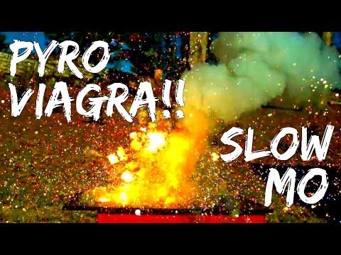 Pyro Viagra Explosion!! (20,000 FPS HD)   Slow Mo Lab