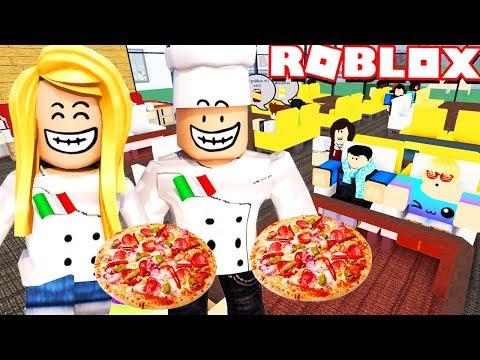 OTWIERAMY WŁOSKĄ RESTAURACJĘ W ROBLOX! (Roblox Restaurant Tycoon) - Vito i Bella