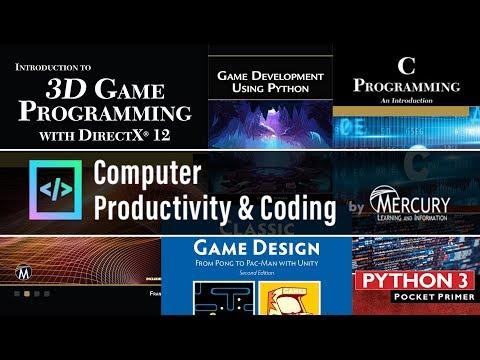Computer Books By Mercury Bundle -- DirectX12 & Retro Games In Unity, C, Python GameDev  + More