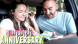 Celebrating Our 1 Month Anniversary & Diy Explosion Box Gift Idea For Boyfriend