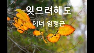 잊으려해도 (권순호 시,곡) - 임정근 테너 / 사진 …