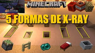 5 FORMAS DE RAYOS X ! - Minecraft XBOX 360 / XBOX ONE / PS3 / PS4 / PC #19(TU19)