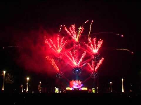 Brussels Atomium 50 Year European Union 24-3-2007 - Pyro4 - vuurwerk - fireworks