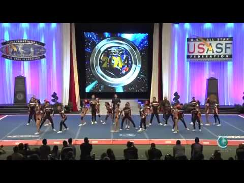 Devils All Stars   Gold Colombia 2014 International Open Coed 5 Finals