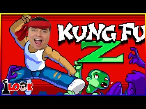 KUNG FU Z ! Retro zombie beat-'em-up! review (1st Look iOS / Android Gameplay) - 동영상