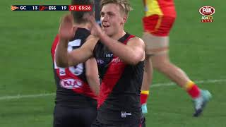 Round 22 AFL - Gold Coast Suns v Essendon Highlights