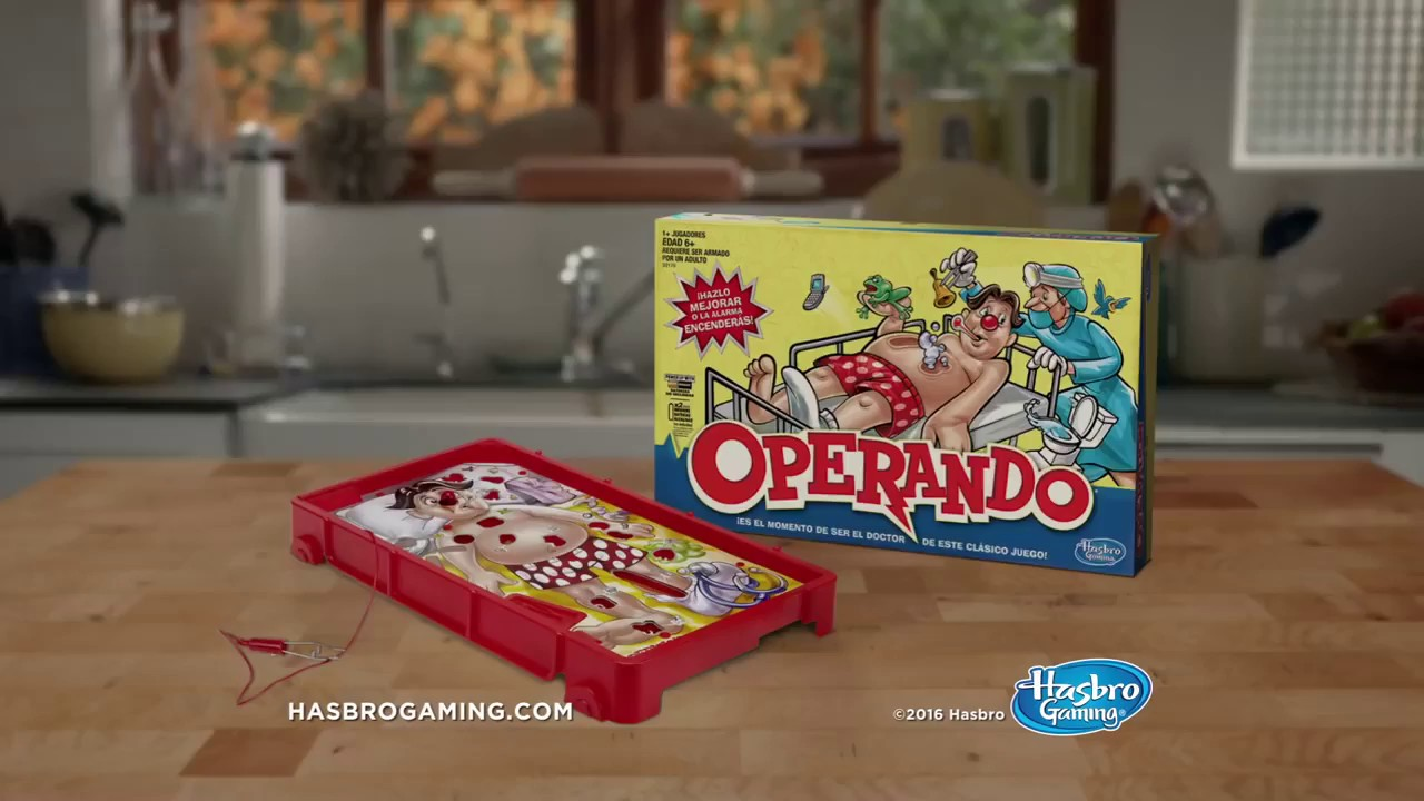 Hasbro Gaming Operando Juego De Mesa