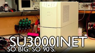 APC SU3000INET: Master UPS of the 90's