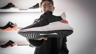 eqt 93 17 support boost unboxing comparison livestock launch party footage