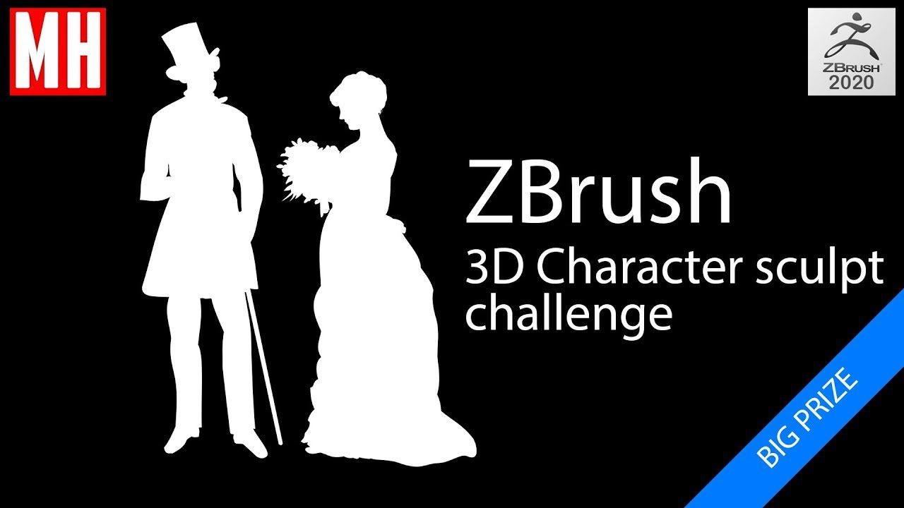 CHALLENGE UPDATE : ZBrush 3D Character sculpting challenge
