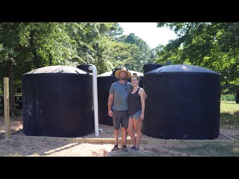 HOW WE'RE GETTING WATER OFF GRID!