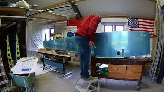 Van's RV-7 Build Fuselage Tail meets Center (097)