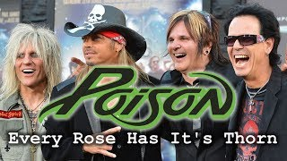 Poison Every Rose Has It S Thorn Live In Monterrey México