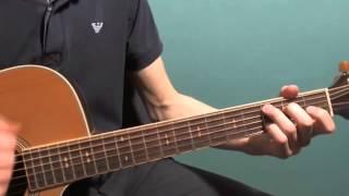 Уроки гитары Behind Blue Eyes часть 2