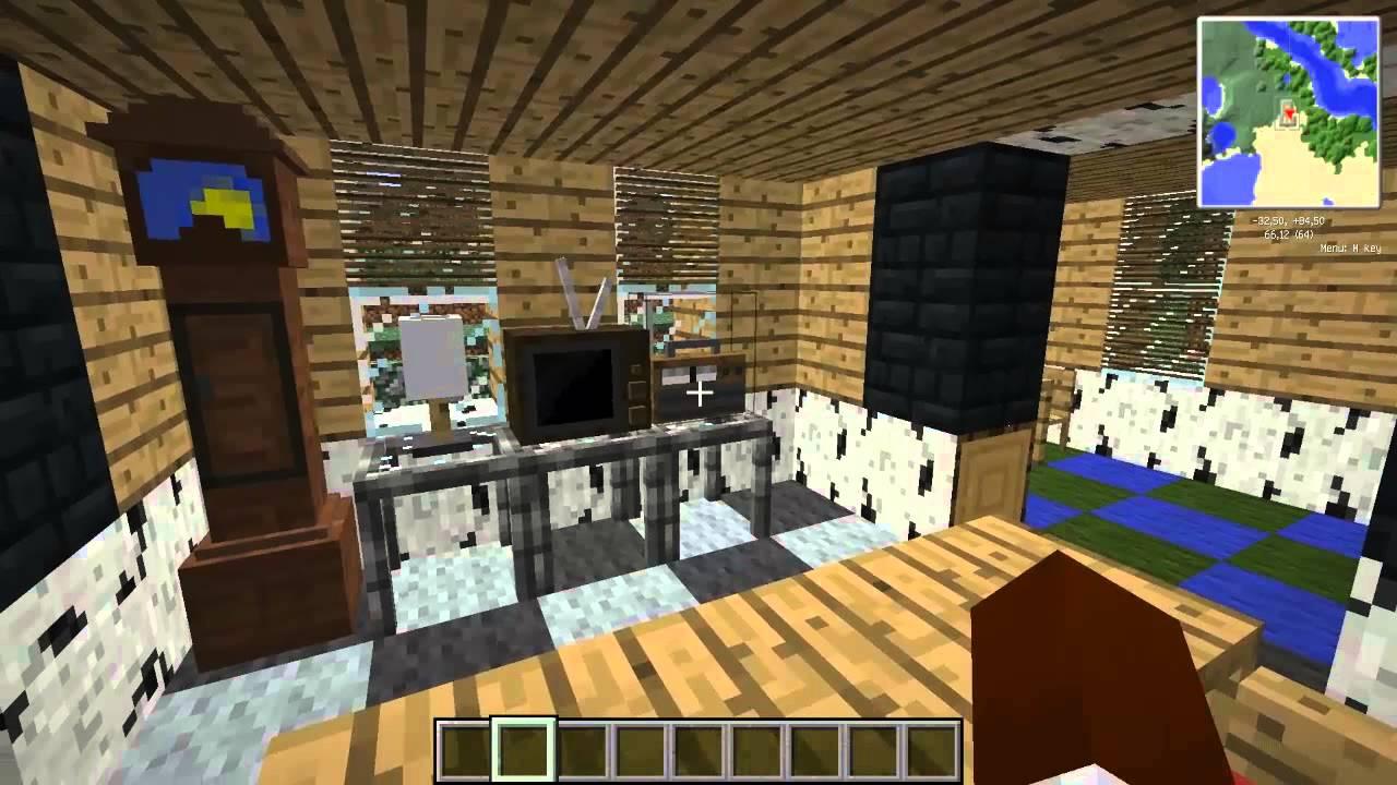 152 PL Jammy Furniture Mod Meble W Minecraft Prezentacjaoraz Instalacja YouTube