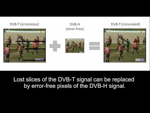 Error Concealment of Digital TV Signals