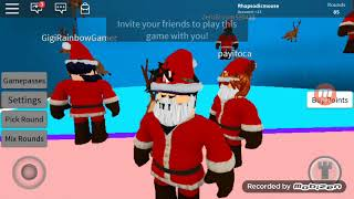 Playing roblox on the phone...