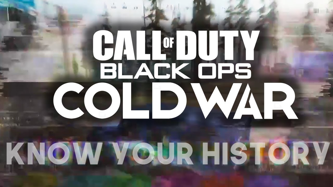 PREMIER TEASING POUR CALL OF DUTY: BLACK OPS COLD WAR ! (NEW COD 2020)