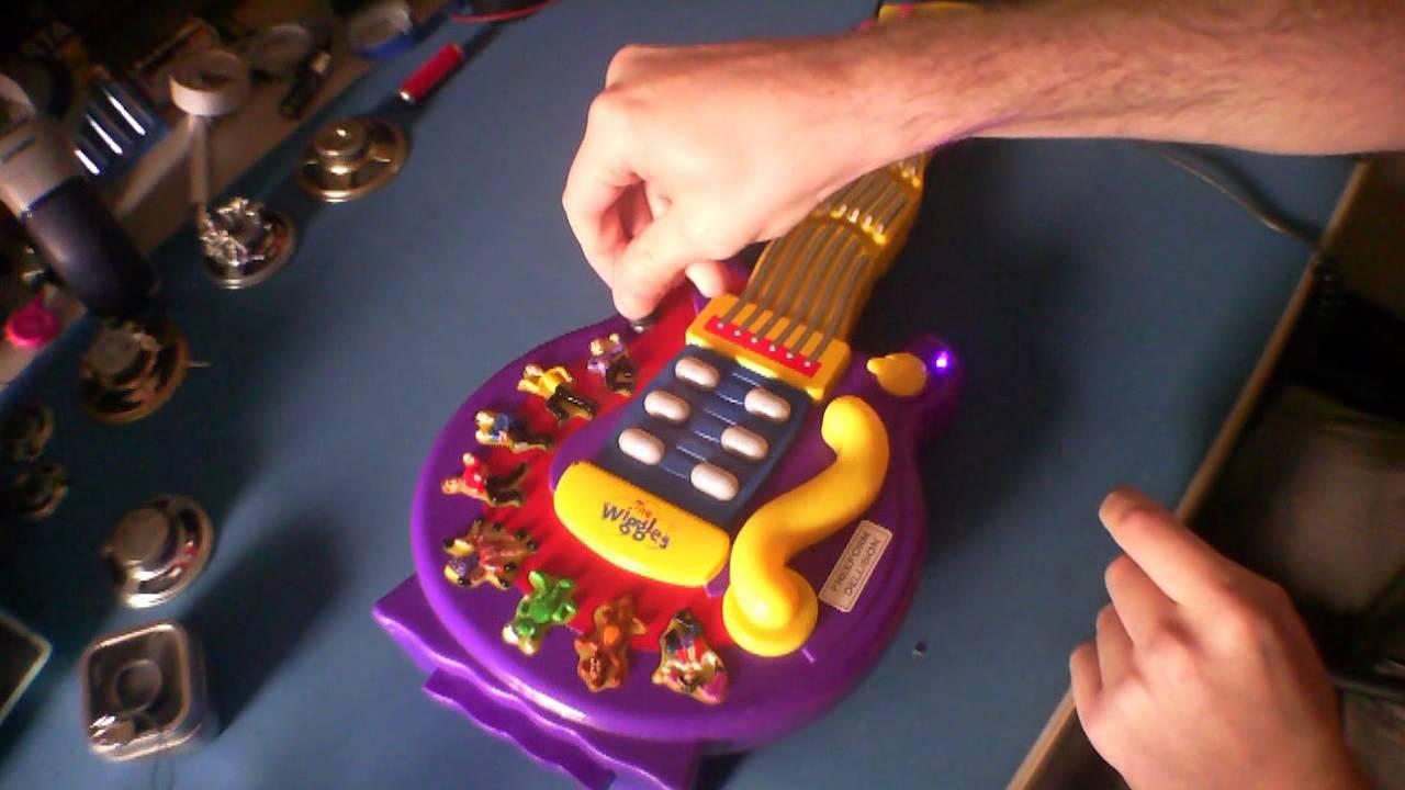 Circuit Bent Elmo Guitar Youtube