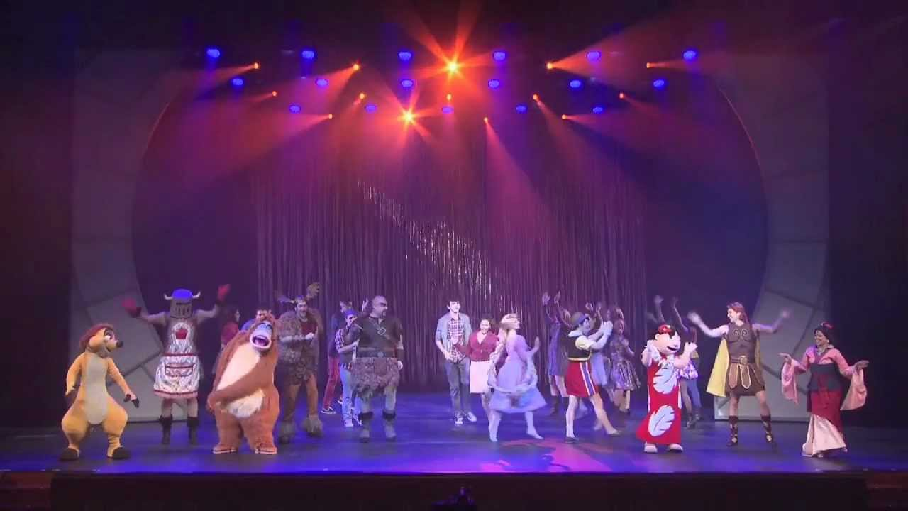 Disney Wishes Musical Stage Show Highlights On Disney Fantasy Cruise Ship Youtube