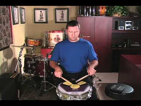 a fresh approach to snare drum lesson 3 d 5 stroke roll youtube. Black Bedroom Furniture Sets. Home Design Ideas