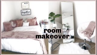 EXTREME room transformation. | CLUTTERED to CLEAN.| Pinterest Inspired.