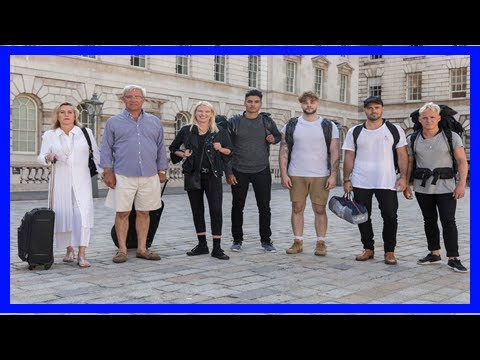 Who are the stars of celebrity hunted?