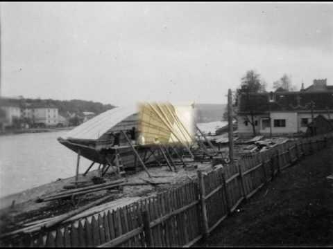Stavba šífů Jan Šílený Týn nad Vltavou