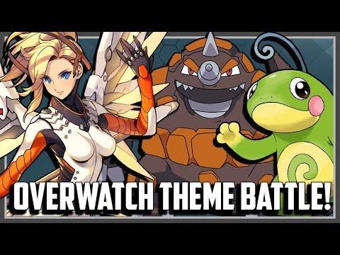 Overwatch Pokemon Theme Battle! Ft. Original151