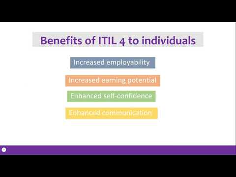 Benefits of ITIL 4  part 1