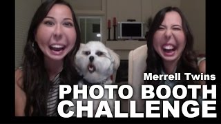 PHOTO BOOTH CHALLENGE - Merrell Twins(We did the Photo Booth Challenge! :) Please take a second and LIKE + FAV this video :D Subscribe and SHARE THIS VIDEO! We post NEW VIDEOS EVERY ..., 2014-09-16T18:30:01.000Z)