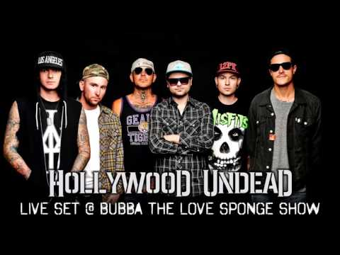 Hollywood Undead - Live Acoustic Set at Bubba The Love Sponge Show