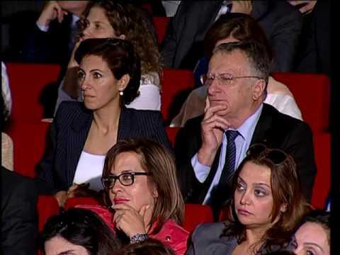 Discours du président Saad Hariri à l'Institut supérieur des affaires pendant la cérémonie