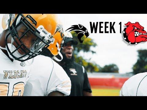 FOOTBALL IS BACK!! || Western high school VS. South Broward