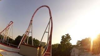Hersheypark Storm Runner POV Un-Edited Front Seat Ride 2012 Rollercoaster Steel