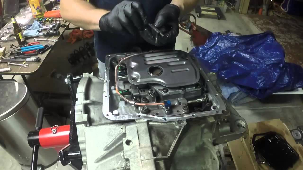 Transmission Filter Change 2009 Camry U250e Youtube