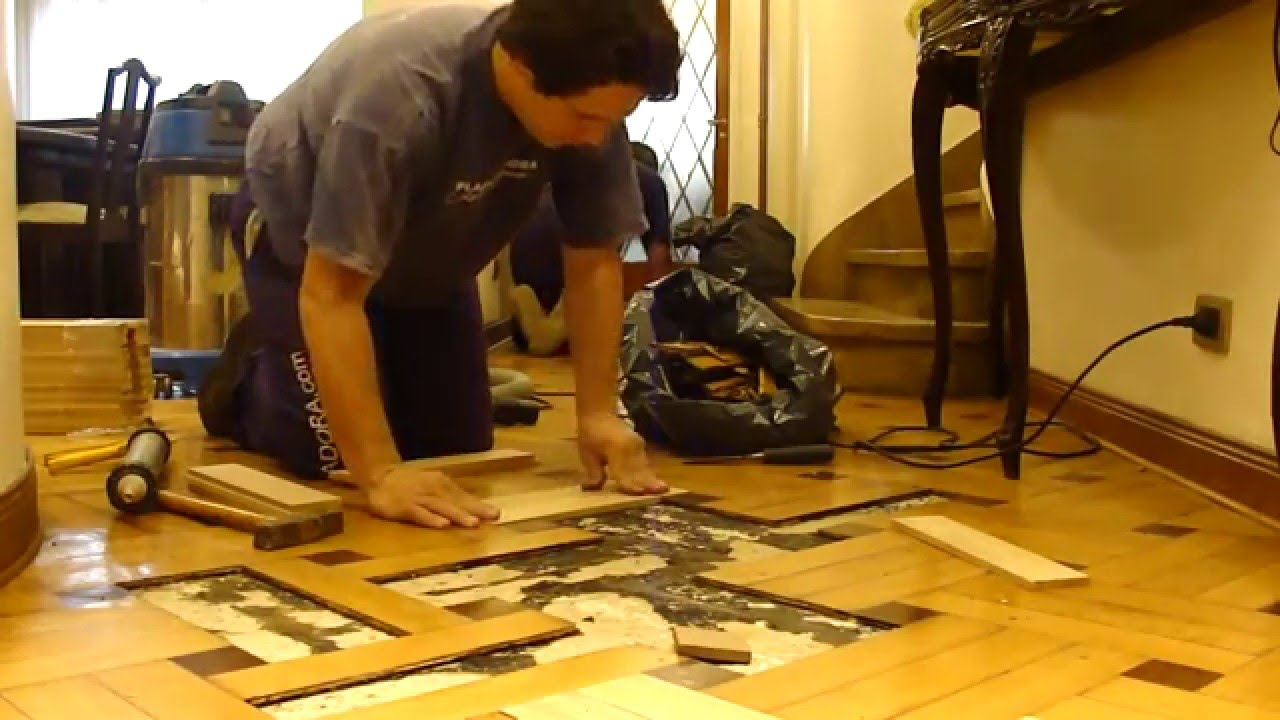 Arreglo de piso parquet de roble eslavonia - Reparar piso parquet ...
