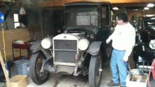 Blowing down the 1920 Stanley Steamer